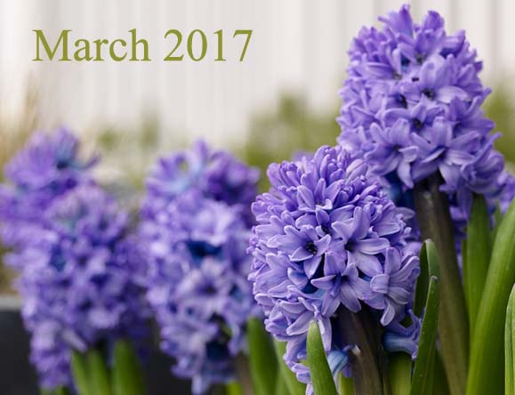 March 2017 Daily Planetary Aspects and Transits