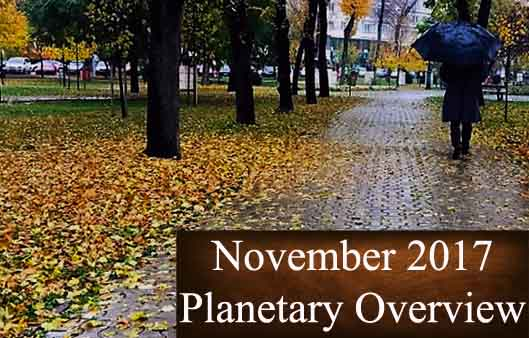 November 2017 – Planetary Overview