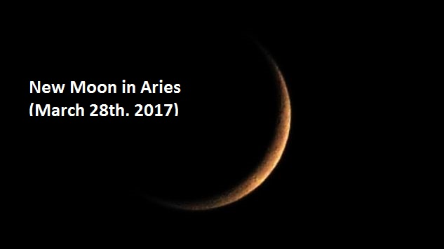 New Moon in Aries (March 28th, 2017)