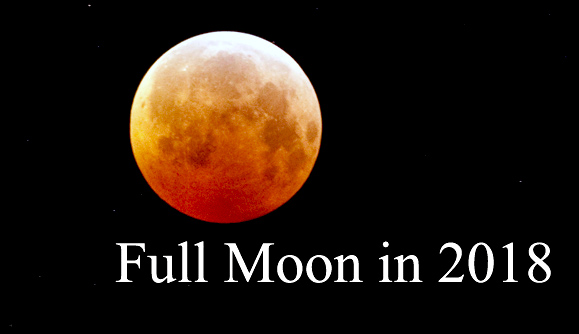 Moon Phases in 2018: Full Moon Calendar