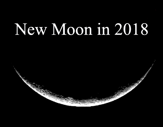 Moon Phases in 2018: New Moon Calendar
