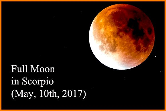 Full Moon in Scorpio – Watch Yourself