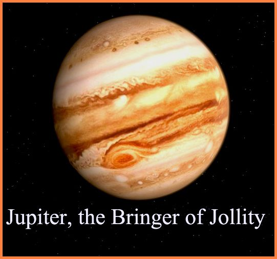Jupiter the Bringer of Jollity music holst