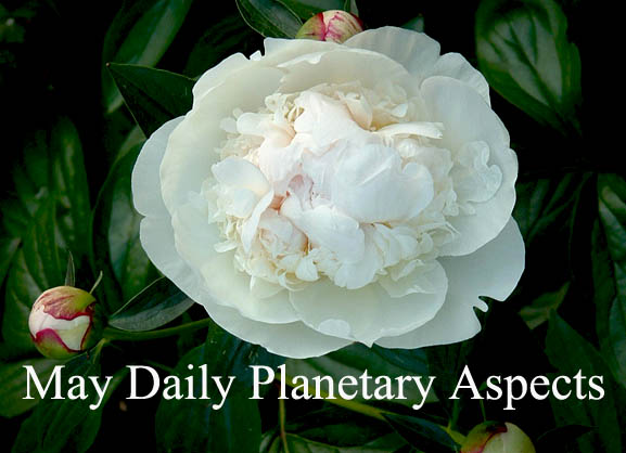 May 2017 – Daily Planetary Aspects and Transits