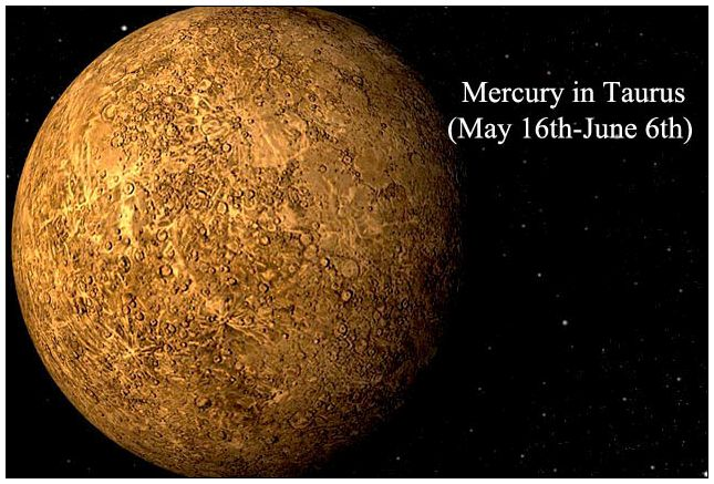 mercury in taurus