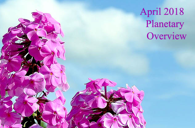 April 2018 – Planetary Overview: Major Astrological Aspects and Transits