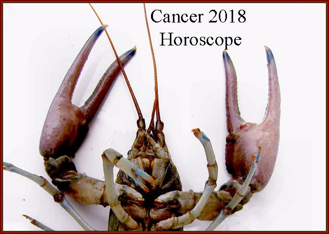 cancer horoscope 2018