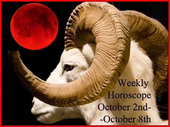 Weekly Horoscope: October 2nd-October 8th