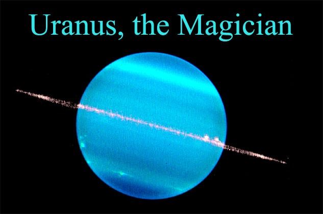 uranus the magician music of the planets