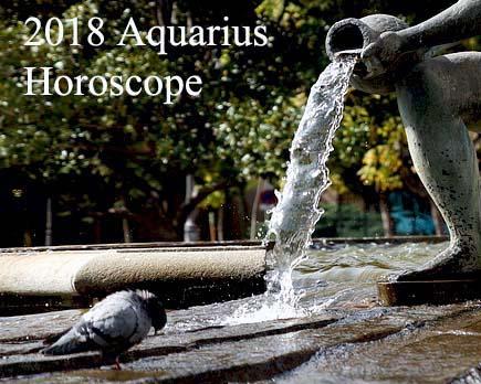 2018 Aquarius Horoscope