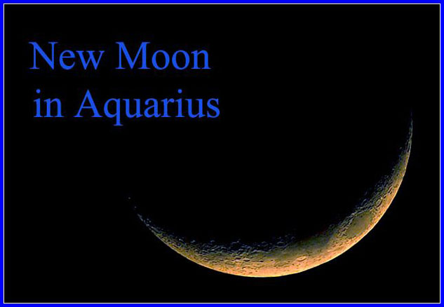 New Moon in Aquarius: Looking Towards the Future