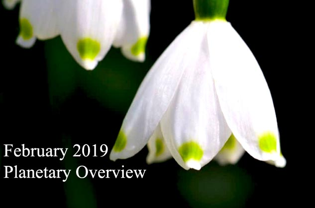 February 2019 – Planetary Overview: Major Astrological Aspects and Transits