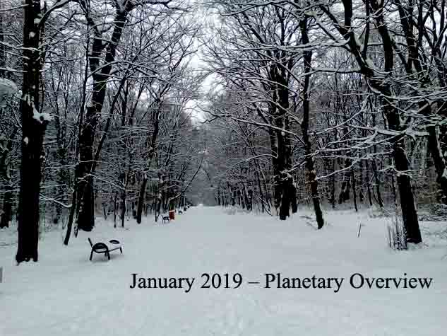 January 2019 – Planetary Overview: Major Astrological Aspects and Transits