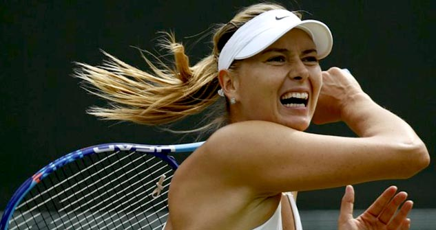 aries woman maria sharapova