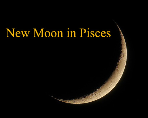 new moon in pisces march 2018
