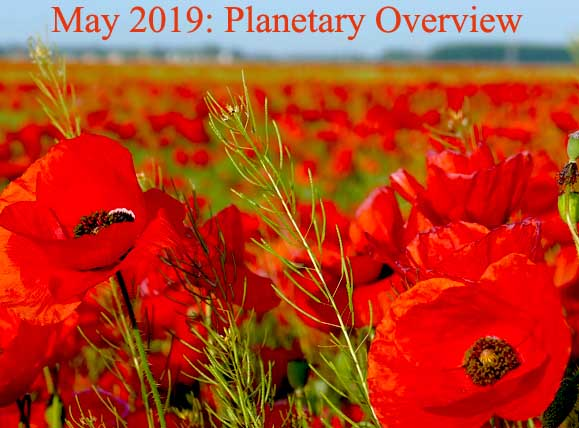 May 2019: Planetary Overview – Major Astrological Aspects and Transits