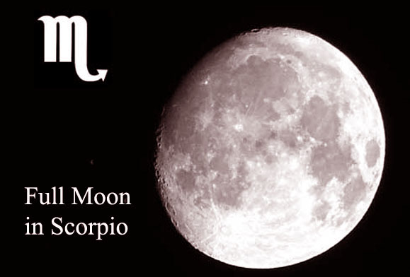 full moon in scorpio april 2018