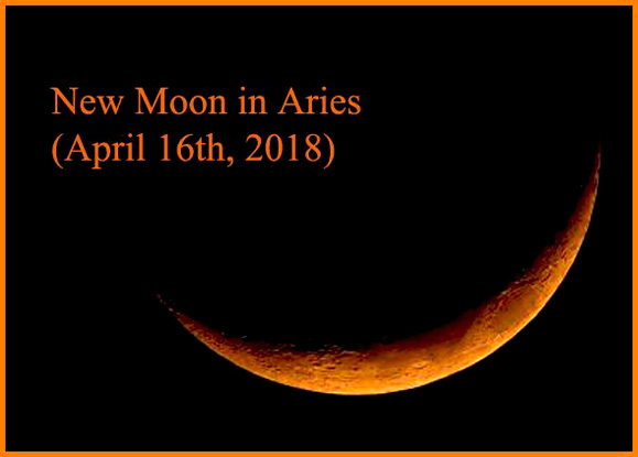 New Moon in Aries (April 16th, 2018) – Empty Your Cup so That It May Be Filled!