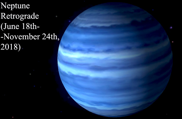 Neptune Retrograde (June 18th-November 24th, 2018)