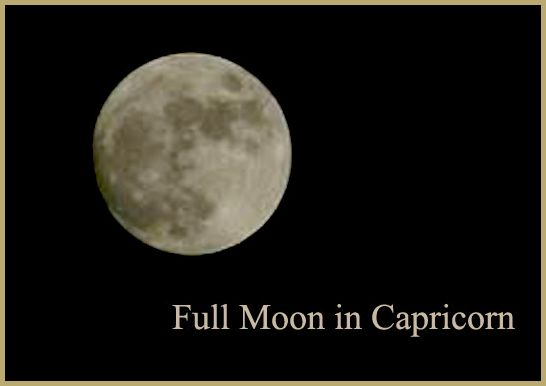 full moon in capricorn june 2018