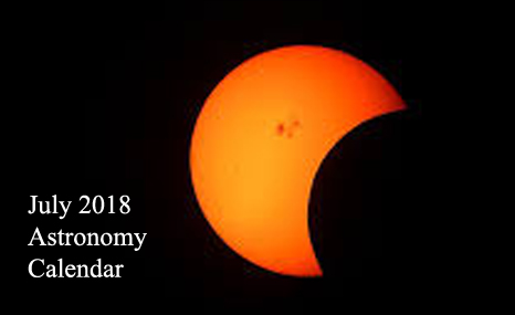 july 2018 astronomy calendar