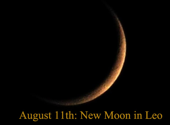 new moon august 2018