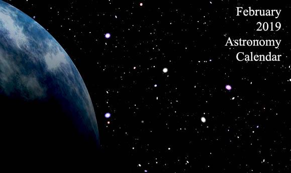 February 2019 Astronomy Calendar