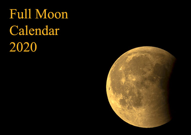Calendar Moon Phases 2020 Moon Phases in 2020: Full Moon Calendar and Lunar Eclipses