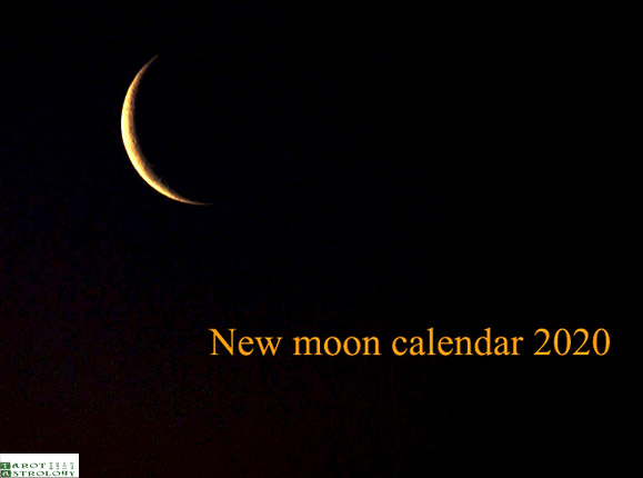 Moon Phases in 2020: New Moon Calendar and Solar Eclipses