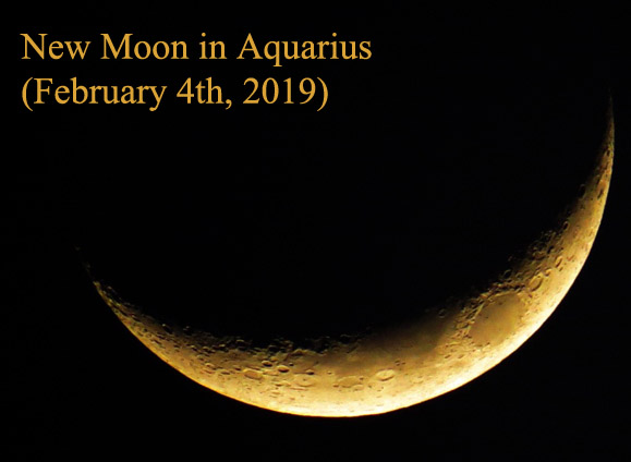 new moon in aquarius february 2019