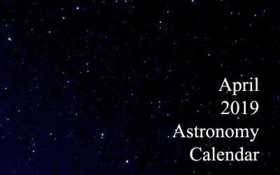 April 2019 Astronomy Calendar
