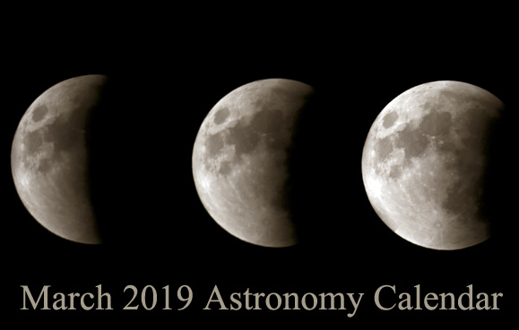 March 2019 Astronomy Calendar – Celestial Events