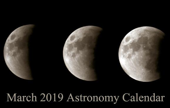 March 2019 Astronomy Calendar