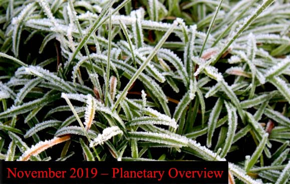 November 2019 – Planetary Overview: Major Astrological Aspects and Transits