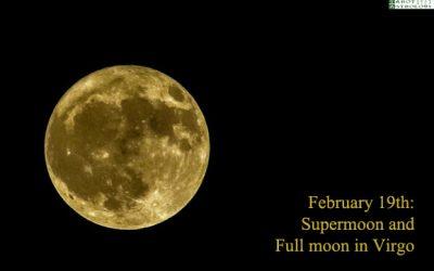 february 2019 full moon and supermoon