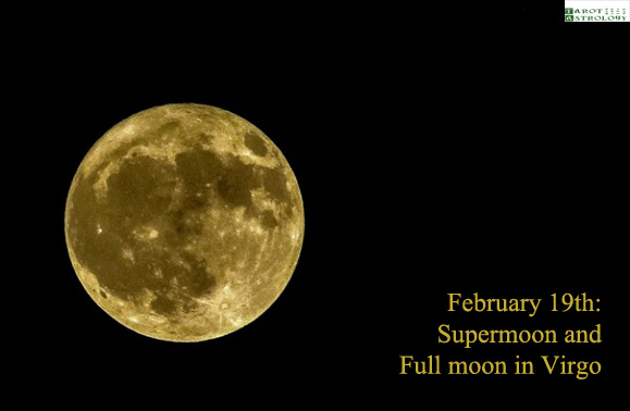 february 2019 full moon and supermoon