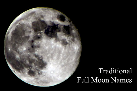 Traditional Full Moon Names