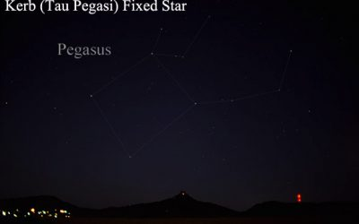 Kerb fixed star tau pegasi