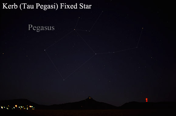 Kerb or Tau Pegasi – Fixed Stars in Astrology