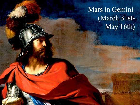 mars in gemini transit 2019