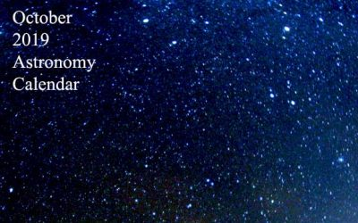 October 2019 Astronomy Calendar