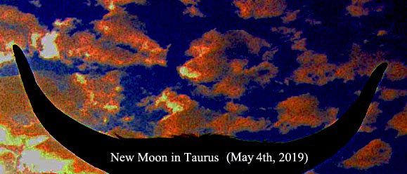 May 2019 New Moon