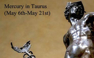 mercury in taurus 2019
