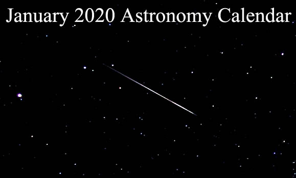 Calendar Events January 2020 January 2020 Astronomy Calendar   Tarot Astrology