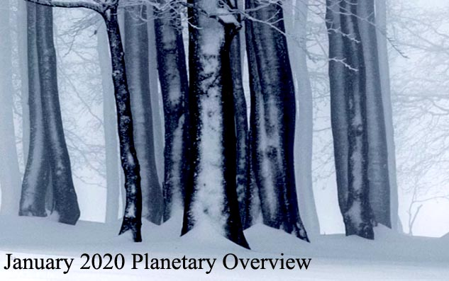 January 2020: Planetary Overview – Major Astrological Aspects and Transits