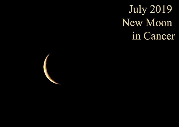 July 2019 New Moon in Cancer – Sensitivity and Strength