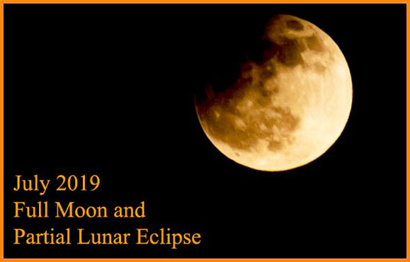 July 2019 Full Moon and Partial Lunar Eclipse: Responsibility and Self-Control