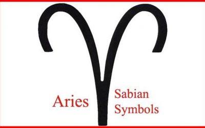 aries sabian symbols
