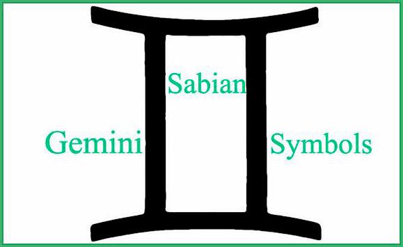 gemini sabian symbols