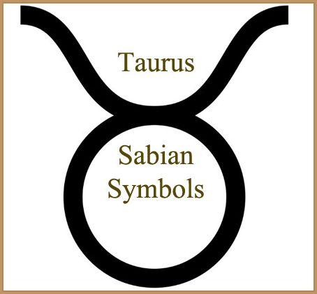 taurus sabian symbols